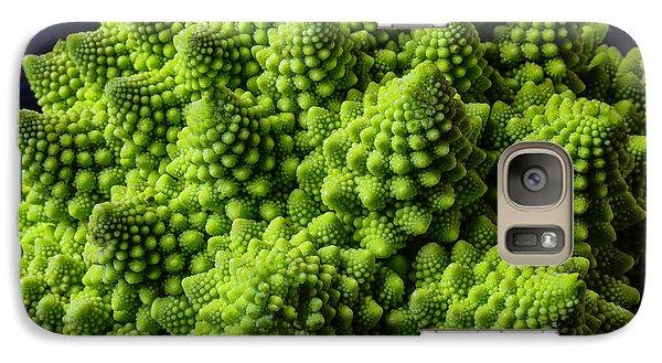 Romanesco Broccoli Galaxy S7 Case by Garry Gay