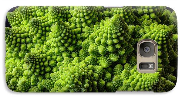 Romanesco Broccoli Galaxy Case by Garry Gay