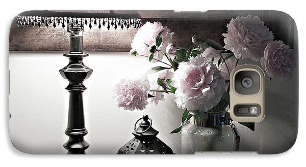Galaxy Case featuring the photograph Romantic Nights by Sherry Hallemeier