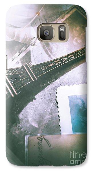 Eiffel Tower Galaxy S7 Case - Romantic Paris Memory by Jorgo Photography - Wall Art Gallery