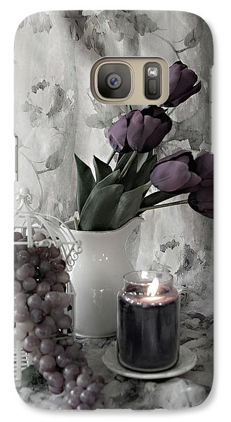Galaxy Case featuring the photograph Romantic Thoughts by Sherry Hallemeier