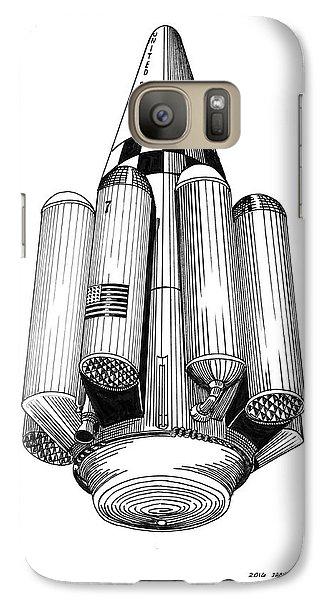 Rombus Heavey Lift Reusable Rocket Galaxy S7 Case