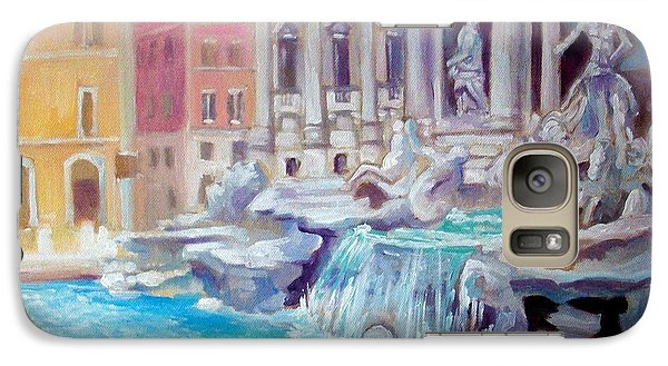 Galaxy Case featuring the painting Rome  Italy by Paul Weerasekera