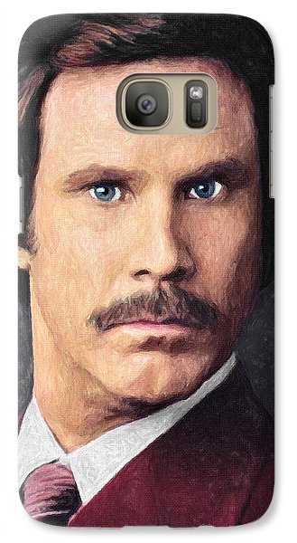 Ron Burgundy Galaxy S7 Case