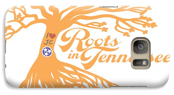 Galaxy Case featuring the photograph Roots In Tn Orange by Heather Applegate