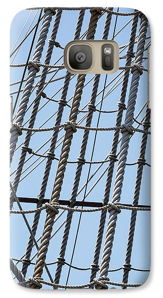 Galaxy Case featuring the photograph Rope Ladder by Dale Kincaid