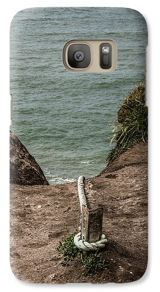 Galaxy Case featuring the photograph Rope Ladder To The Sea by Odd Jeppesen