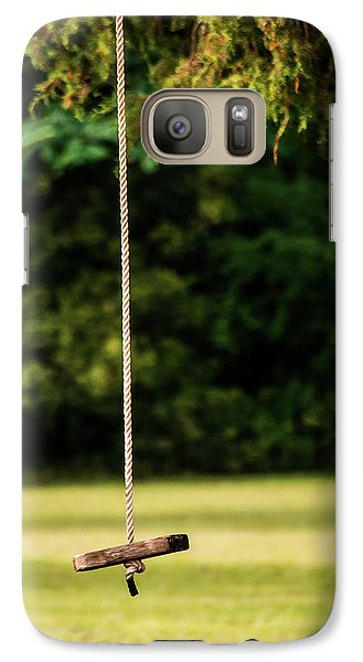 Galaxy Case featuring the photograph Rope Swing  by Shelby Young