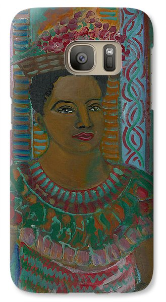 Galaxy Case featuring the painting Rosa by John Keaton