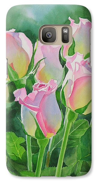Rose Galaxy S7 Case - Rose Array by Sharon Freeman