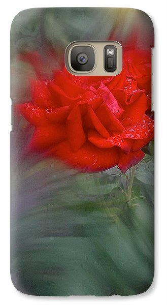 Galaxy Case featuring the photograph Rose Aug 2016 by Richard Cummings