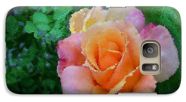 Galaxy Case featuring the photograph Rose by Bonnie Willis