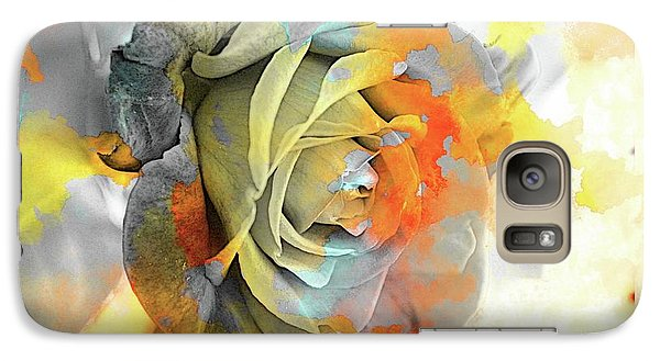 Galaxy Case featuring the photograph Rose Bud by Athala Carole Bruckner