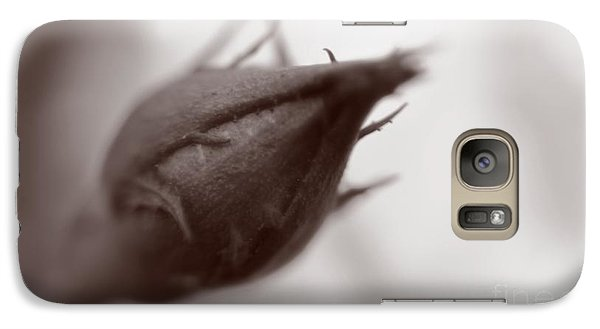 Galaxy Case featuring the photograph Rose Bud by Janice Spivey