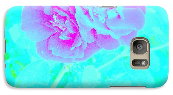 Galaxy Case featuring the photograph Rose Colored Dream by Greg Moores