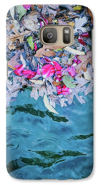 Rose Garden Fountain II Galaxy S7 Case