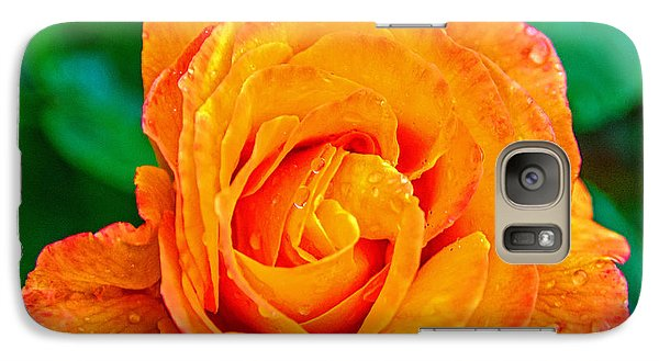 Galaxy Case featuring the photograph Rose by Jerry Cahill