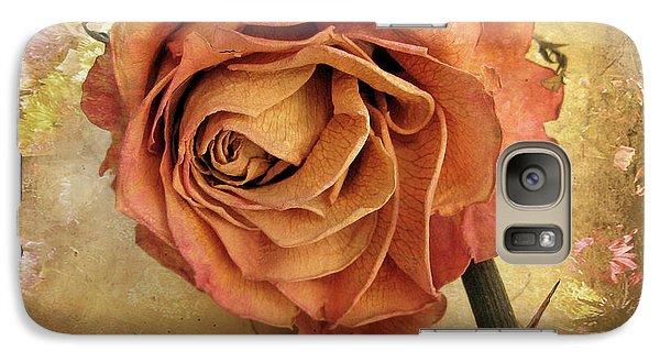 Rose Galaxy S7 Case - Rose  by Jessica Jenney