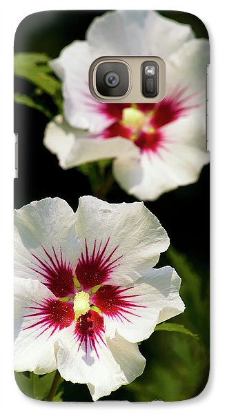 Galaxy Case featuring the photograph Rose Of Sharon by Christina Rollo