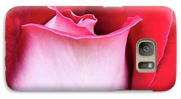 Galaxy Case featuring the photograph Rose Petals by Kristin Elmquist
