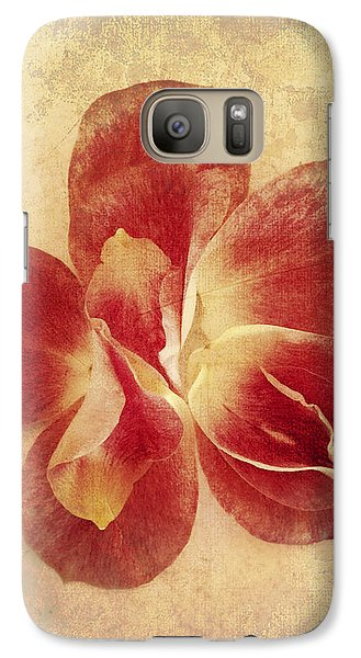 Galaxy Case featuring the photograph Rose Petals by Linda Sannuti