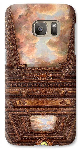 Galaxy Case featuring the photograph Rose Reading Room Ceiling by Jessica Jenney