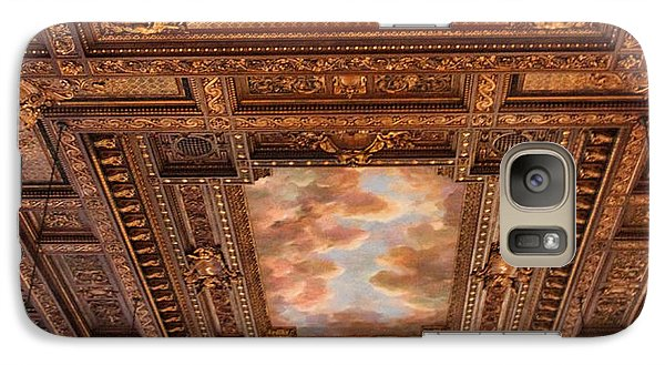 Galaxy Case featuring the photograph Rose Room Ceiling by Jessica Jenney