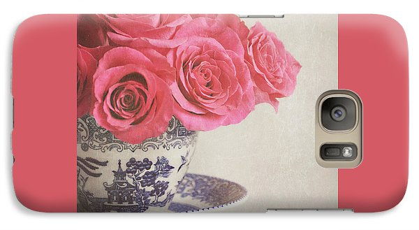 Galaxy Case featuring the photograph Rose Tea by Lyn Randle