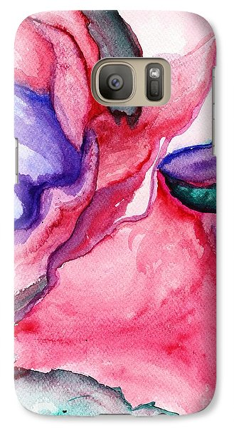 Galaxy Case featuring the painting Rose Wave by Vonda Lawson-Rosa