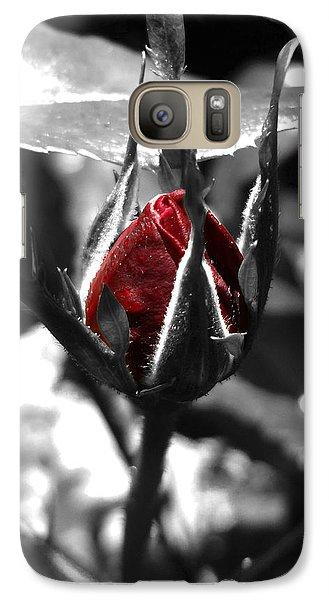 Rosebud Red Galaxy S7 Case