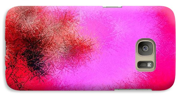 Galaxy Case featuring the digital art Roses And Pins by Dr Loifer Vladimir
