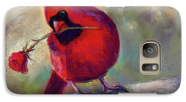 Galaxy Case featuring the painting Roses Are Red And So Am I  by Billie Colson