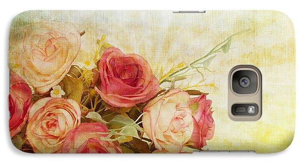 Roses Pattern Retro Design Galaxy S7 Case