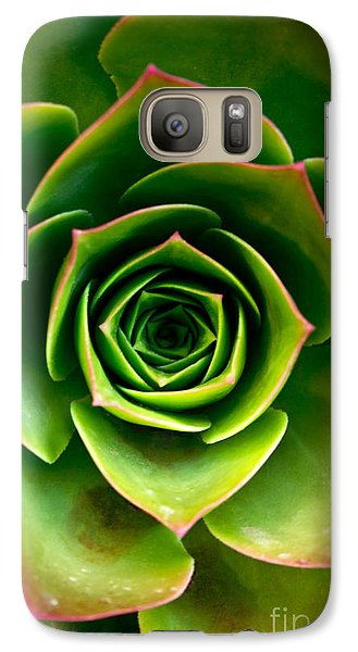 Galaxy Case featuring the photograph Rosette by Nadya Ost