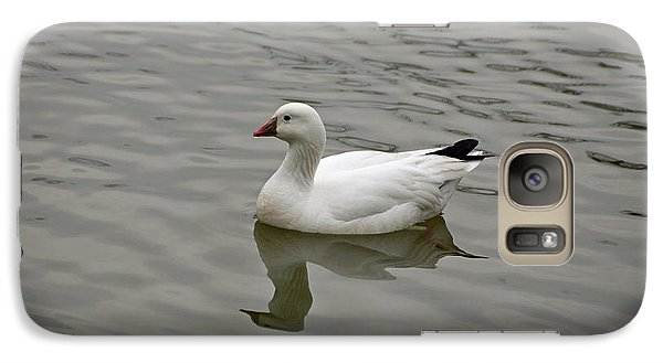 Galaxy Case featuring the photograph Ross's Goose by Sandy Keeton