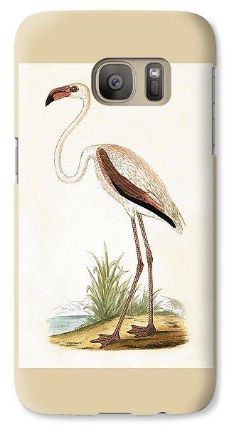 Rosy Flamingo Galaxy S7 Case by English School