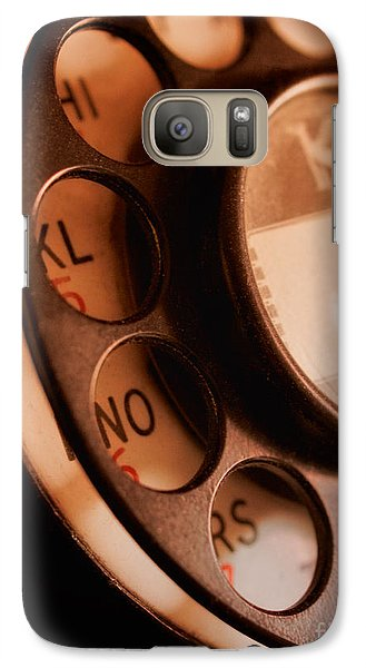 Galaxy Case featuring the photograph Rotary Dial by Mark Miller