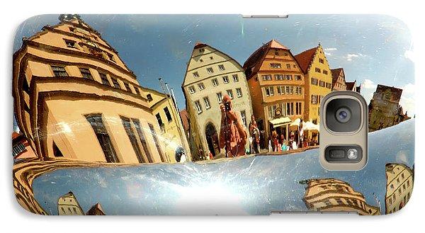 Galaxy Case featuring the photograph Rotenburg In A Tuba by KG Thienemann