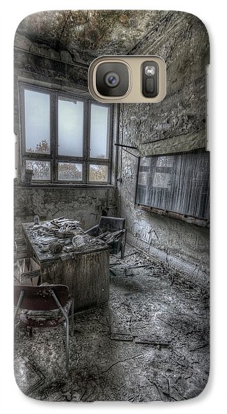 Galaxy Case featuring the digital art Rotten Office by Nathan Wright