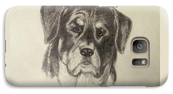 Rottweiler Galaxy S7 Case by Suzette Kallen