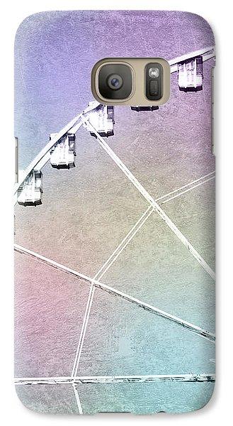 Galaxy Case featuring the photograph Roue De Paris - Ferris Wheel In Paris by Melanie Alexandra Price
