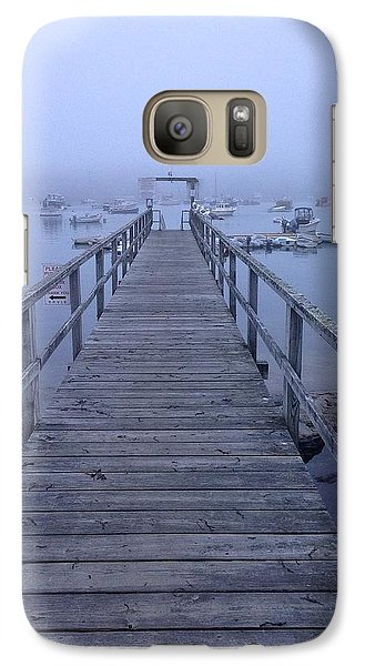 Galaxy Case featuring the photograph Round Pond by Olivier Calas