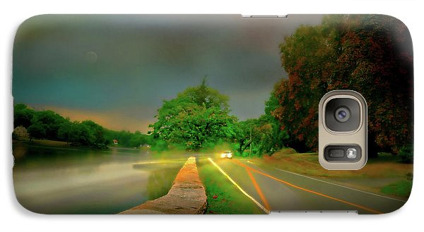 Galaxy Case featuring the photograph Round The Bend by Diana Angstadt