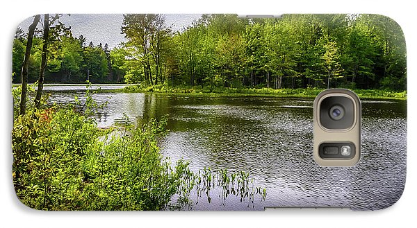 Galaxy S7 Case featuring the photograph Round The Bend In Oil 36 by Mark Myhaver