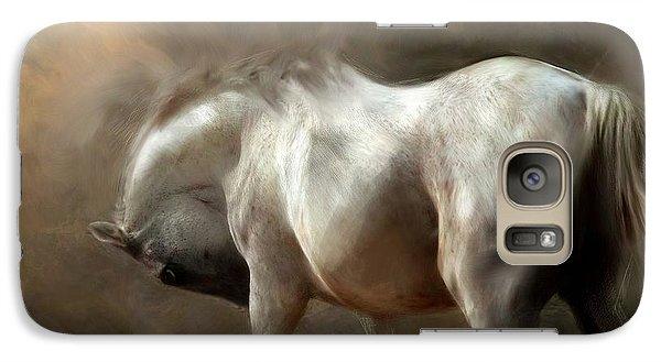 Galaxy Case featuring the digital art Roundness by Dorota Kudyba