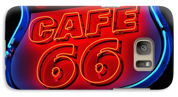 Galaxy Case featuring the photograph Route 66 by Donna Greene