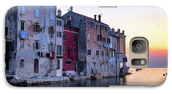 Rovinj Old Town On The Adriatic At Sunset Galaxy S7 Case