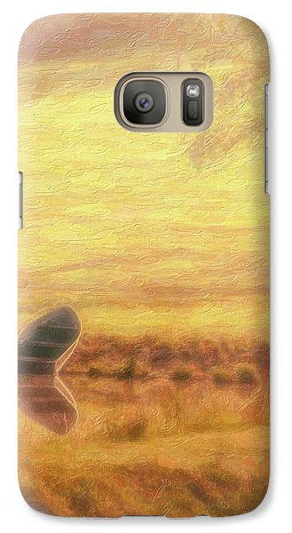 Galaxy Case featuring the photograph Rowboat by Tom Mc Nemar