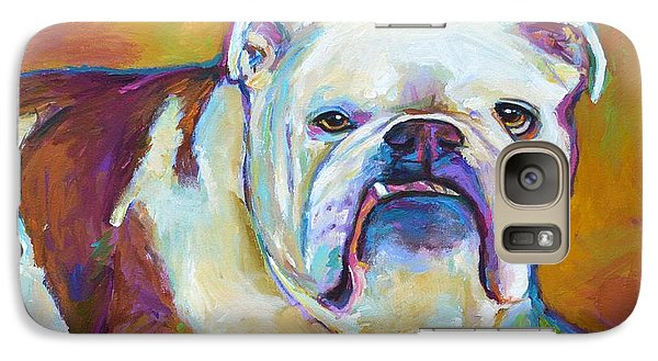 Galaxy Case featuring the painting Roxi by Robert Phelps