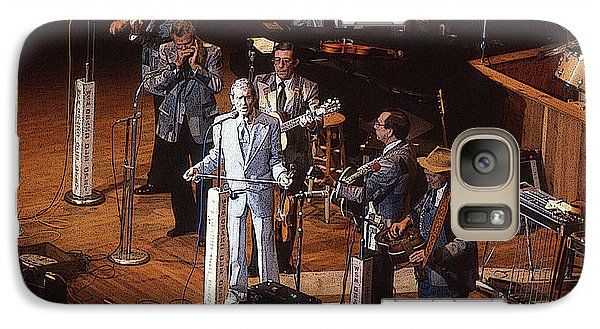 Galaxy Case featuring the photograph Roy Acuff At The Grand Ole Opry by Jim Mathis
